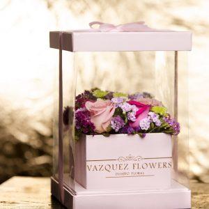 Flower Box – Luxury Pink