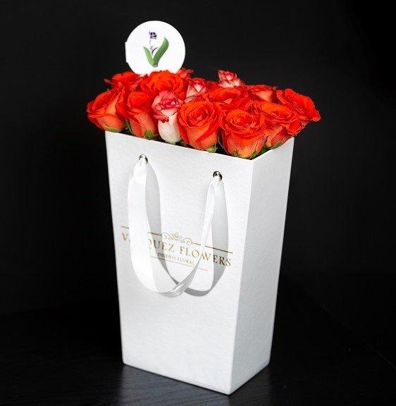 FlowerBox Julliete White