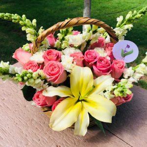 Canasta Floral (Grande)