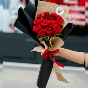 Ramo 12 Rosas #001