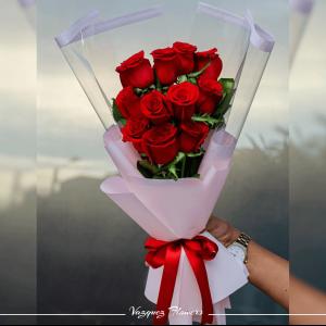 Ramo 12 Rosas #004