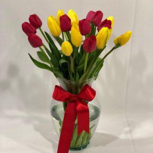 Jarron de Tulipanes