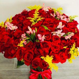 Jarron Colette 100 Rosas